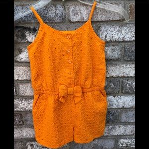 4T NWT orange jumper from gap